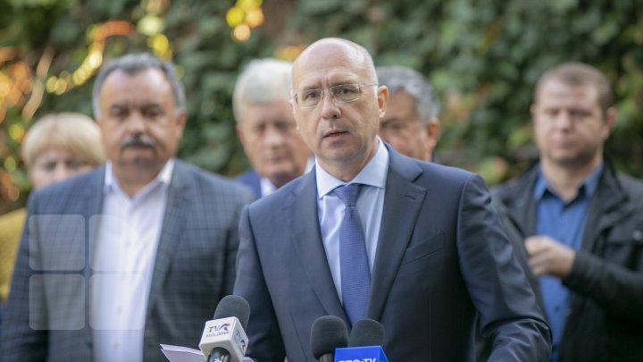Pavel Filip: Candidaţii PDM la alegeri sunt intimidaţi şi hărţuiţi de actuala guvernare (FOTO)