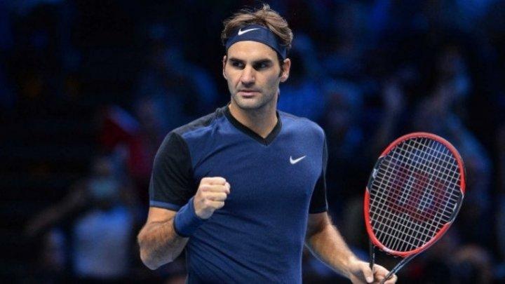Jucătorul elveţian de tenis Roger Federer s-a calificat marţi în optimi la Shanghai
