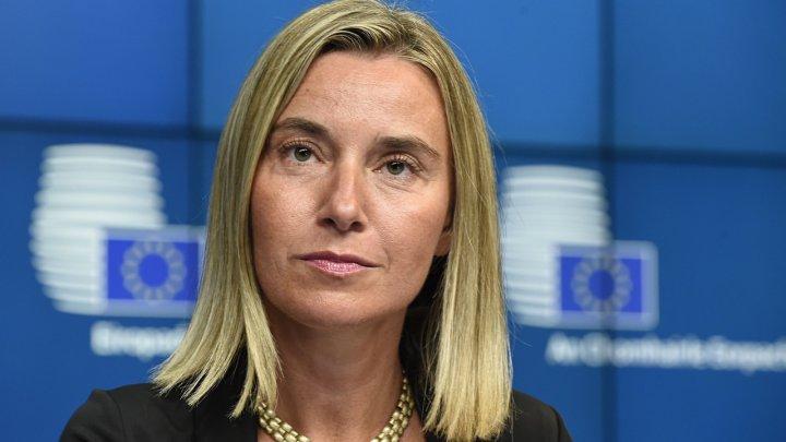 Federica Mogherini va efectua mâine o vizită în Republica Moldova