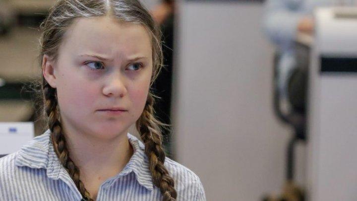 Activista suedeză Greta Thunberg semnează pentru un serial TV
