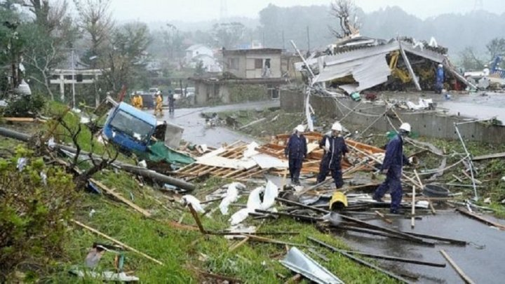 BILANȚ SUMBRU în Japonia după trecerea taifunului Hagibis: Aproximativ 70 de morţi