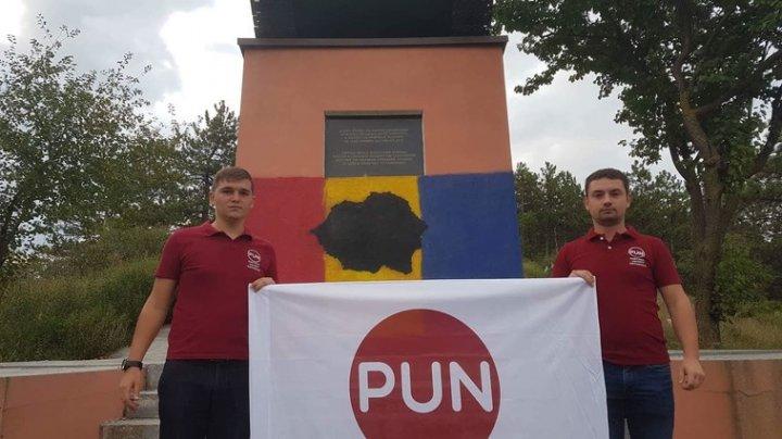 Procuratura din Hâncești a luat o decizie: Desenarea Tricolorului și a hărții României Mari pe tancul din Leușeni nu este infracțiune