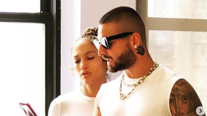 Jennifer Lopez şi Maluma filmează împreună o comedie romantică la New York