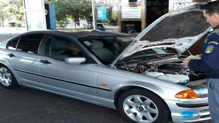 Ghinion pentru un moldovean, care a urcat la volanul unui Mercedes ML250