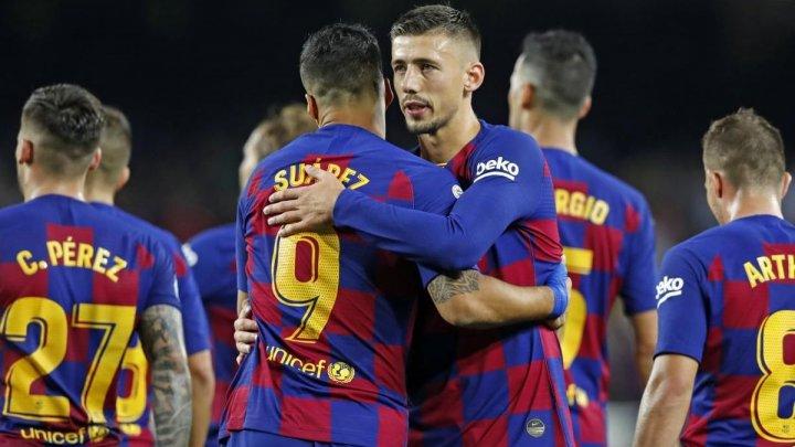 Victorie pentru Barcelona. Catalanii au câştigat derby-ul serii cu Inter Milano din Liga Campionilor