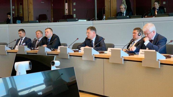 La Bruxelles au început negocierile trilaterale privind gazele ruseşti