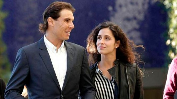 """Bat clopote de nuntă! Rafael Nadal s-a căsătorit cu partenera lui de viaţă, Maria Francesca """"Mery"""" Perello"""