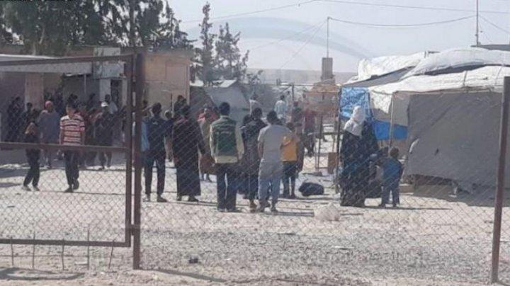 Circa 100 de femei şi copii care aveau legătură cu Statul Islamic au evadat dintr-o tabără