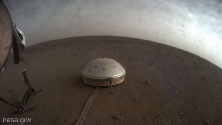 Sonda InSight a NASA a înregistrat sunete ciudate pe Marte (VIDEO)
