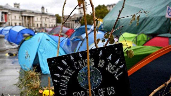 Poliția londoneză a interzis protestele ecologiștilor