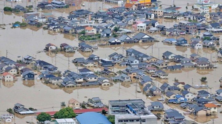 Inundaţii severe în Japonia. Cel puţin 70 de persoane au murit