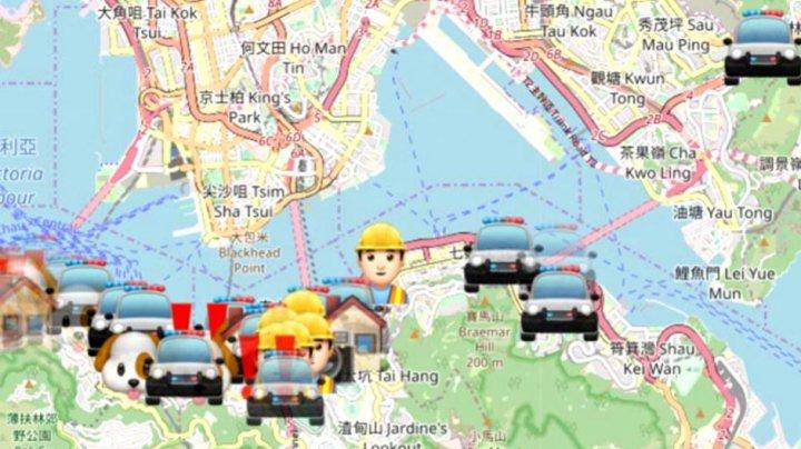 Apple a interzis o aplicație care le permitea utilizatorilor să se ferească de poliție la protestele din Hong Kong