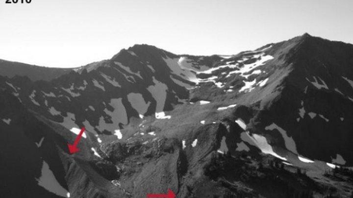 Aproape toţi gheţarii din vestul Statelor Unite se vor topi şi vor dispărea în aproximativ 50 de ani