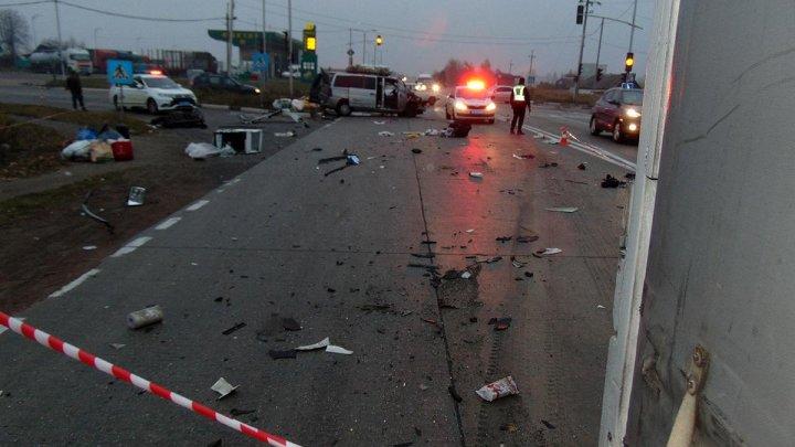 O moldoveancă a murit, iar două persoane au fost rănite, în urma unui accident grav, produs în Ucraina (FOTO)