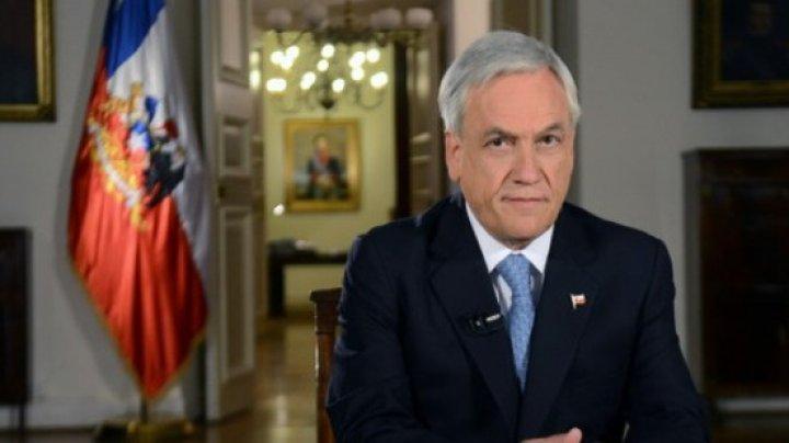 Preşedintele Chile a anunţat un pachet de măsuri sociale pentru a pune capăt protestelor