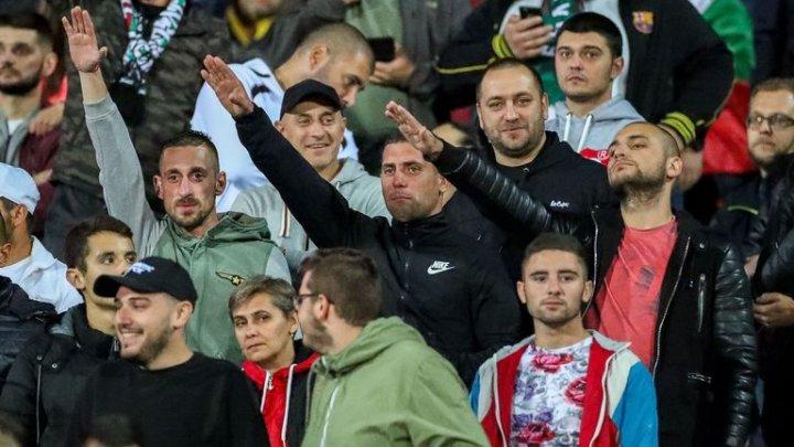 UEFA a deschis o procedură disciplinară contra Bulgariei după scandările cu caracter rasist ale fanilor