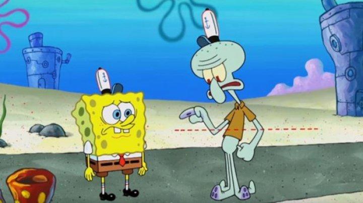 """Serialul """"SpongeBob Pantaloni Pătraţi"""" a fost numit violent şi rasist"""