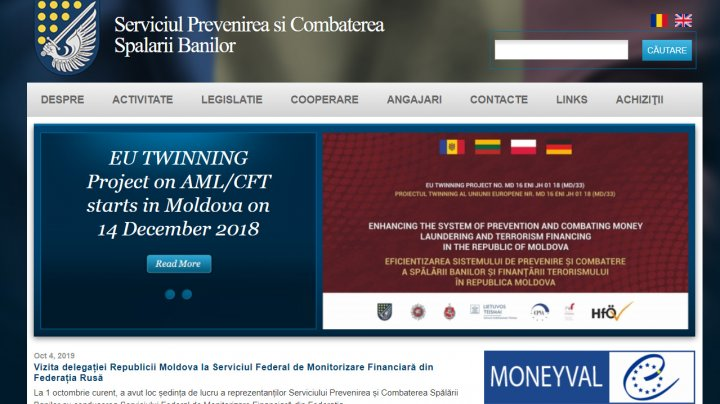 Serviciul Prevenirea şi Combaterea Spălării Banilor a SPĂLAT URMELE. Iată dovada