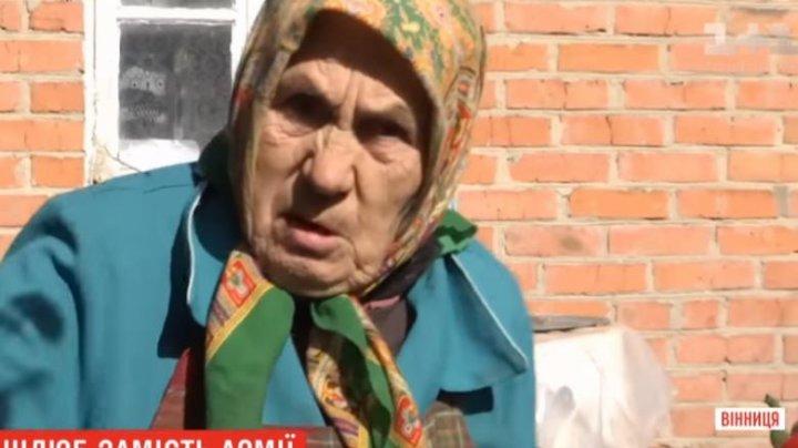 Motivul pentru care un ucrainean de 24 de ani s-a căsătorit cu o bătrână de 81 de ani (VIDEO)