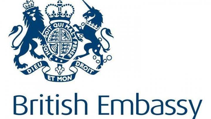 Ambasada Marii Britanii la Chişinău îndeamnă liderii politici ai țării să ajungă la un consens