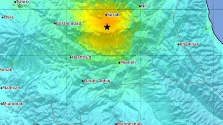 Cutremur puternic în Iran. Cinci morți și sute de răniți