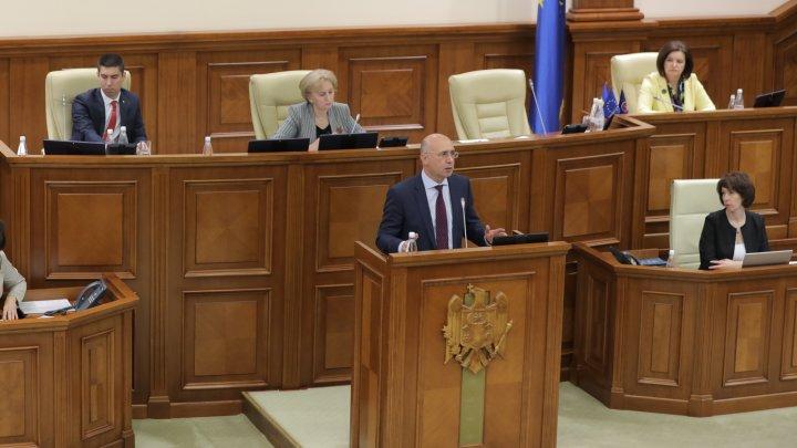 Pavel Filip: Guvernul nu este demis! Astăzi, luăm act de decizia acestui Guvern de a pleca (VIDEO)