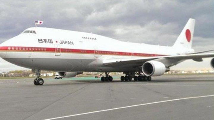 Incendiu la bordul avionului premierului japonez Shinzo Abe