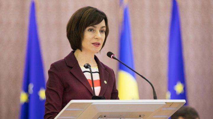 Premierul Maia Sandu propune o nouă soluţie pentru depăşirea crizei politice (VIDEO)