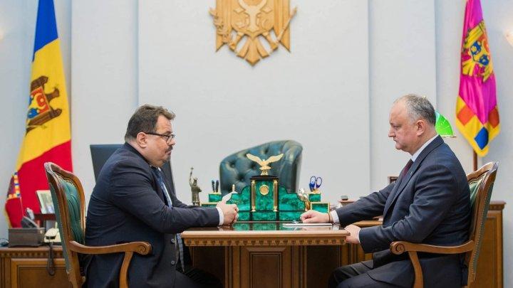 După Hogan şi Michalko. Igor Dodon a discutat cu şeful Delegaţiei UE situaţia politică din ţară