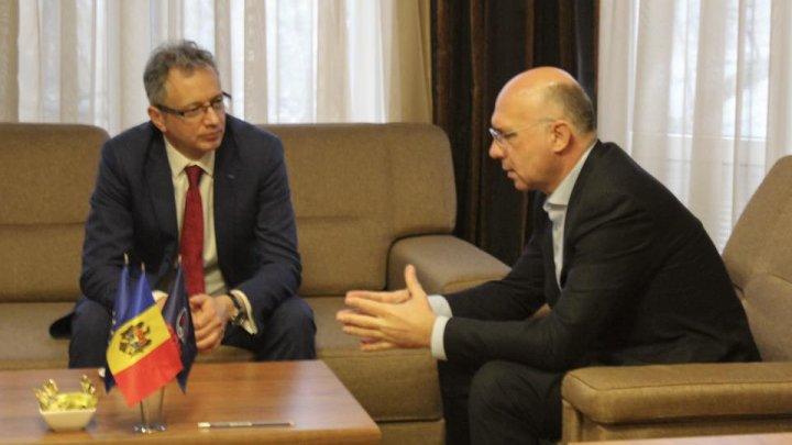 Pavel Filip la întrevederea cu șeful Misiunii OSCE în Republica Moldova: PDM va susține noul guvern atât timp cât acesta va produce lucruri concrete