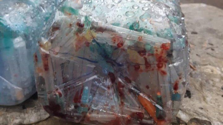 Administraţia spitalului Toma Ciorbă nu ştie cum au ajuns în stradă deşeurile medicale