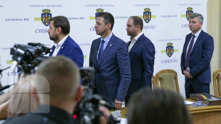MESAJUL primarului Ion Ceban către consilierii municipali: Bun venit la bord (FOTO)