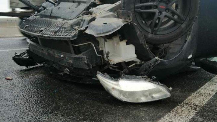 O familie din Moldova implicată într-un accident în Ucraina