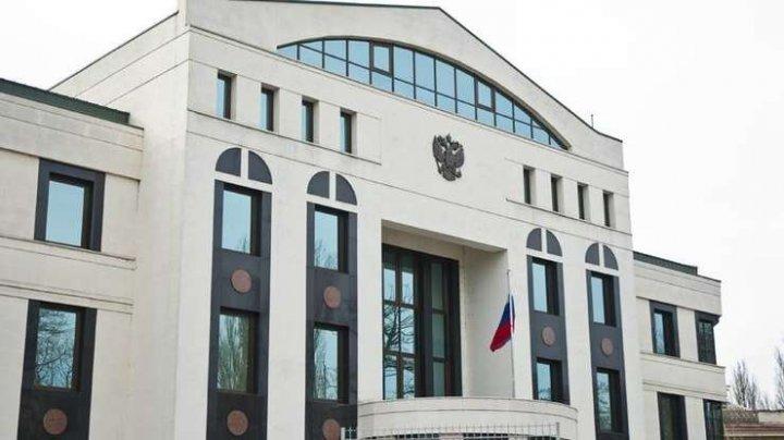 REACŢIA Ambasadei Rusiei la Chişinău privind situaţia politică din ţară