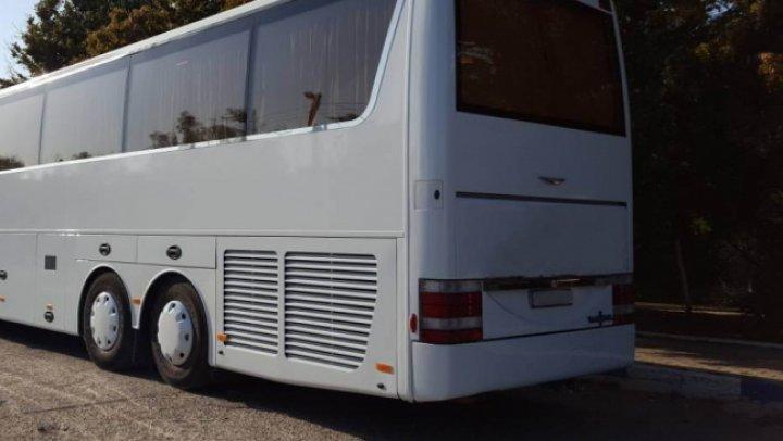 GHINION pentru şoferul unui autobuz de pe ruta Chişinău-Cehia. Ce avea în colete