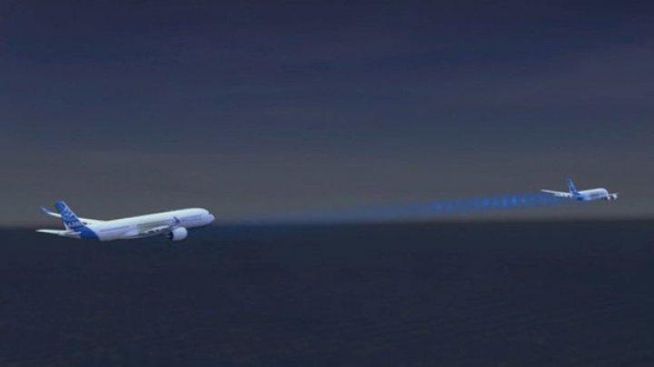 Proiect REVOLUŢIONAR. Airbus vrea să lanseze în tandem două aeronave pentru a reduce consumul de combustibil