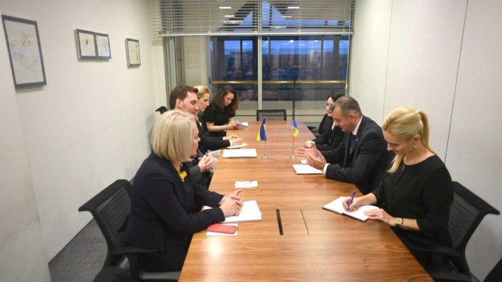 Criza gazelor a fost discutată de premierul Ion Chicu și omologul său din Ucraina (FOTO)