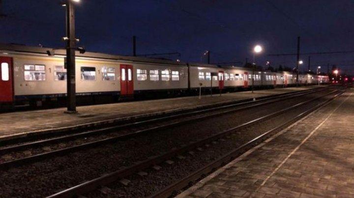 Alertă cu antrax într-un tren din Belgia. 28 de pasageri au fost blocați timp de trei ore