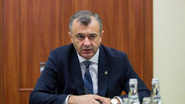 Premierul Ion Chicu a convocat membrii Cabinetului de miniștrii în prima ședință de Guvern. Vezi ce au discutat