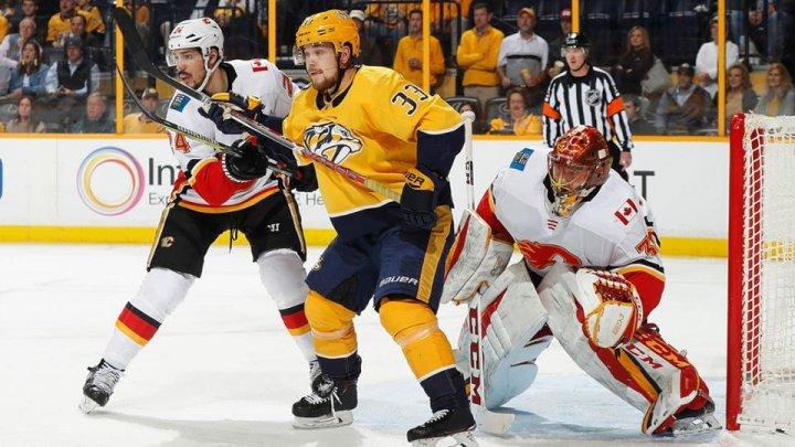Răsturnări de scor marca NHL. Nashville Predators au pierdut meciul de acasă cu Calgary Flames
