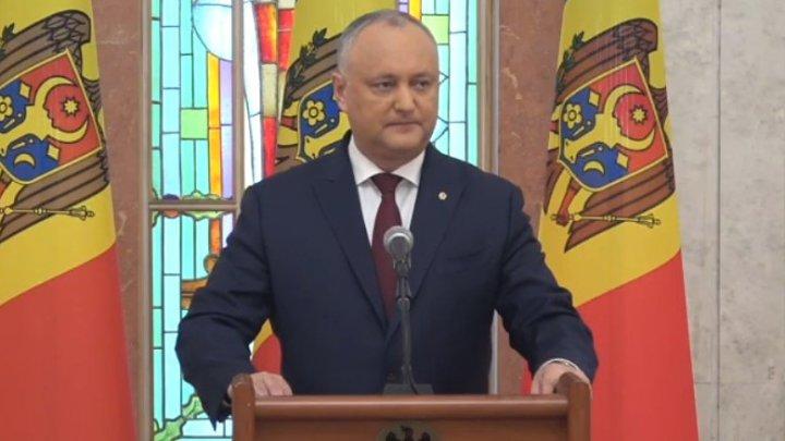 Dodon după ce Guvernul Sandu a aprobat astăzi mai multe proiecte: Перед смертью не надышишься