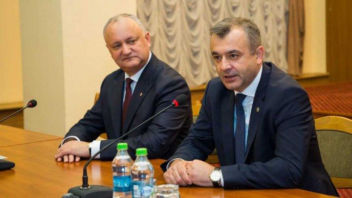 Noul Prim-ministru, Ion Chicu, a fost prezentat angajaților Cancelariei de Stat: Ne vom axa pe acțiuni menite să îmbunătățească viața cetățenilor
