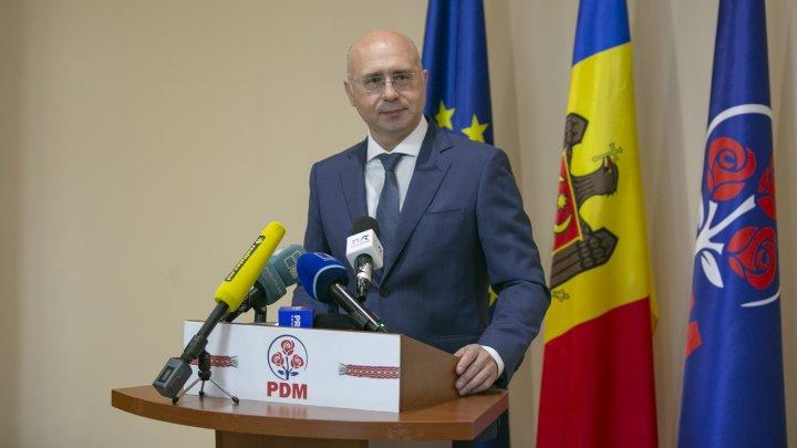 Pavel Filip, despre rezultatele alegerilor din Chişinău: Trebuie să fie un semnal de alarmă pentru cei din Blocul ACUM