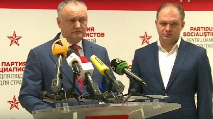 Igor Dodon către Ion Ceban: Nu trebuie să fii sub nicio euforie, oamenii asteaptă rezultate