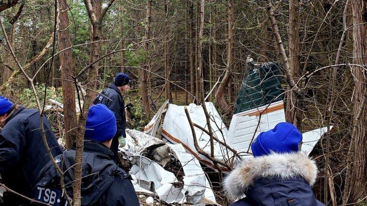 TRAGEDIE AVIATICĂ în Canada: Toți pasagerii aflați la bordul avionului au murit. Printre victime sunt şi copii (FOTO)