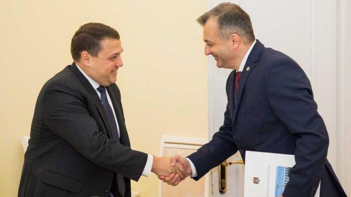 Ruben Atoyan, la întrevederea cu Ion Chicu: FMI este gata să susțină Moldova în procesul de implementare a reformelor