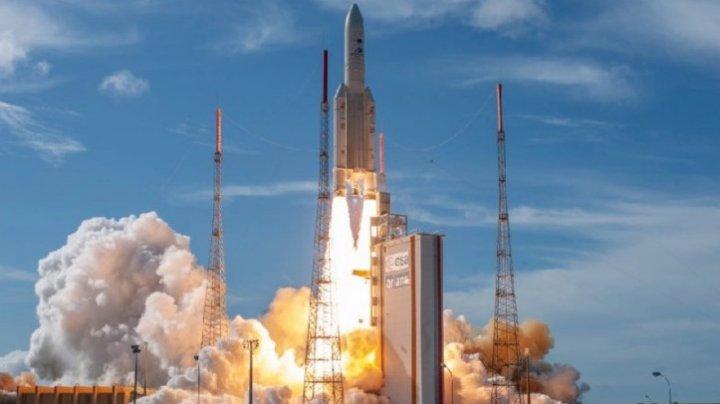 Lansarea unei rachete Ariane 5, amânată din cauza condiţiilor meteorologice