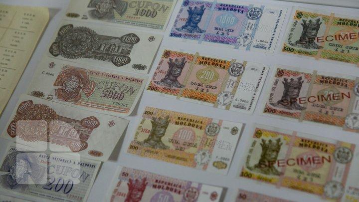 Leul moldovenesc împlinește 26 de ani. BNM pune în circulație șapte monede noi (FOTOREPORT)