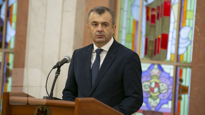 Primele declaraţii ale lui Ion Chicu în calitate de premier al Republicii Moldova