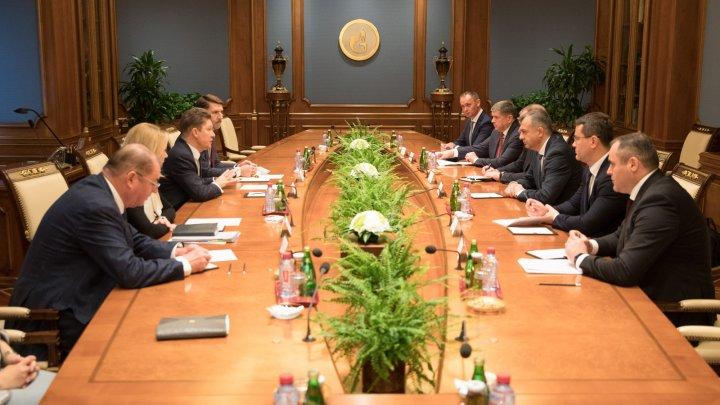 Ce au discutat preşedinţii Moldovagaz şi Gazprom privind alimentarea cu gaze naturale a consumatorilor din Moldova
